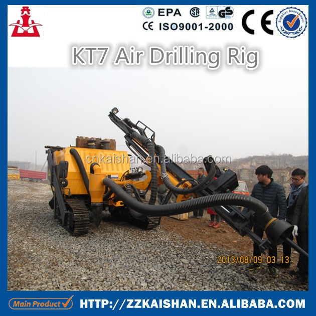 KT7 integrated DTH drilling Surface break/blast hole machine for sale