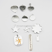 Custom engraved metal jewelry tags for logo brand tags for handbags in fashion trends
