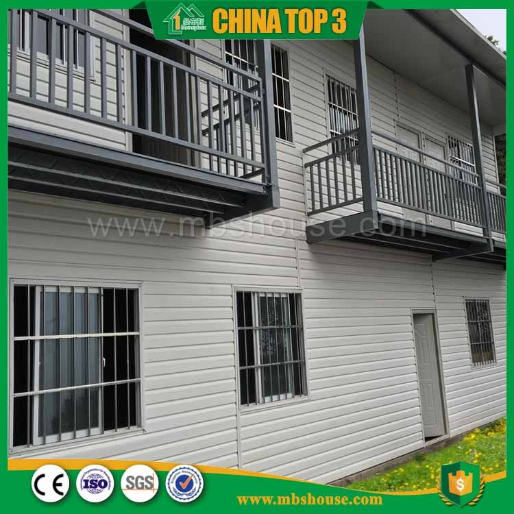 Moneybox Luxury Two Storey Vacation House Decorated Steel Frame Building