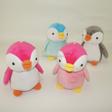 Kawaii soft stuffed animals toy plush small penguin doll