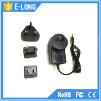 EU AU UK US plug AC/DC power supply 5v 1a power adapter made in China
