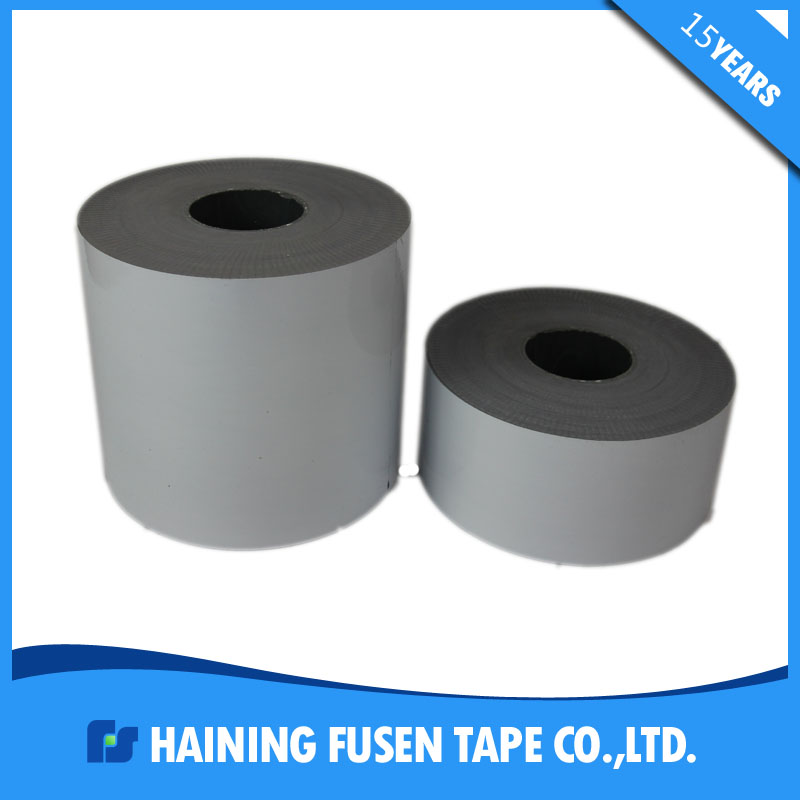 Stable adhesive strength milky white protection film for metal surfaces