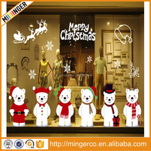 Christmas decorations, stickers, wall paper home decoration