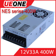 Hot sale 400w 12v 33a switching power supply CE factory price NES-400-12