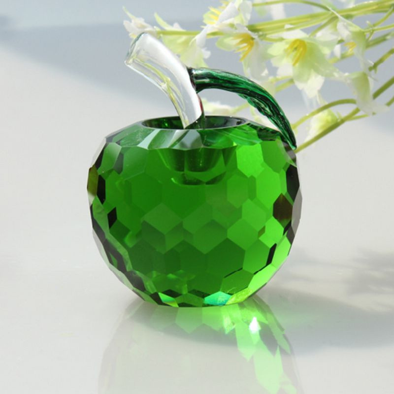 Wholesale Gift Items K9 Crystal Apple
