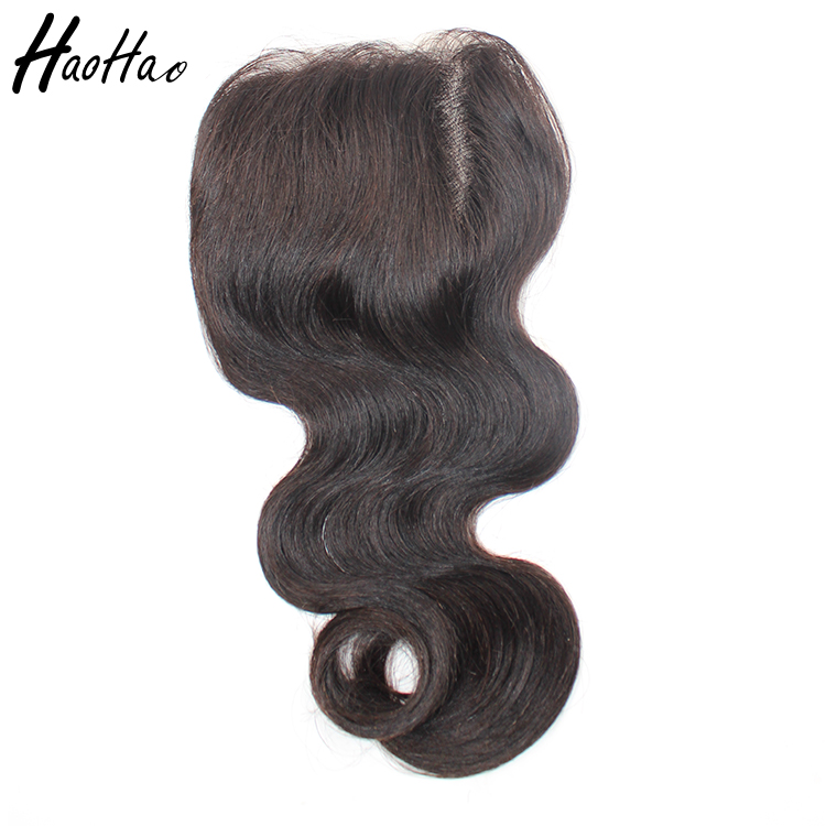 High Quality Natural color Indian Hair Lace Front Closures body wave In Stock