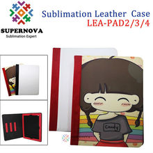 Blank Sublimation Leather Case for iPad2/3
