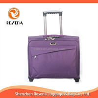 Soft Nylon Material Ladies Laptop Trolley Bag