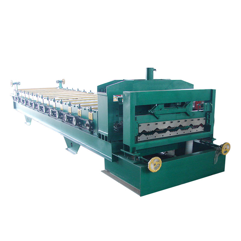 High quality glazed tile roof double glazing machine