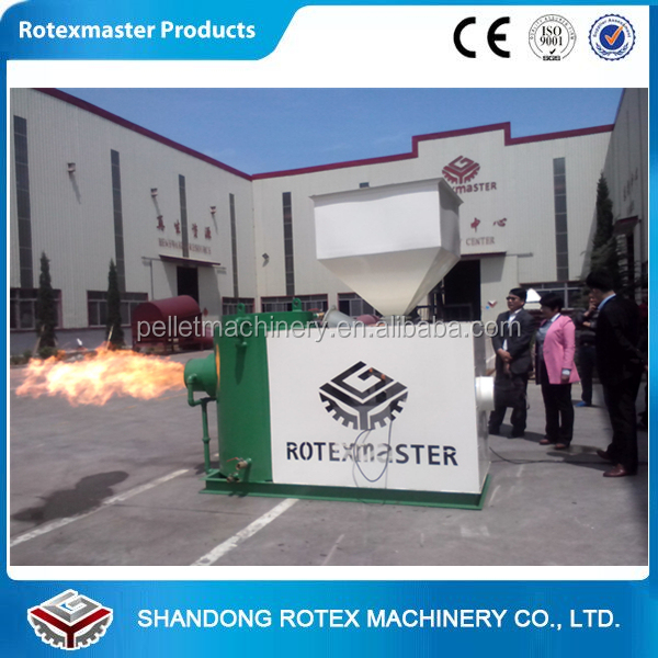 Power Saving Small Biomass Burner Wood Pellet Burner for Boiler