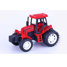 Cheap plastic friction car farmer tractor car vehicle toy for kids