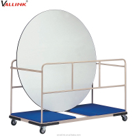Good Service Round Table hand Trolley Carts for Round Table