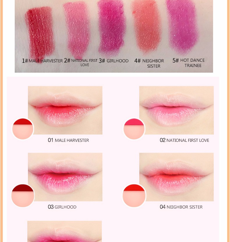 Low price guaranteed quality natural lipstick
