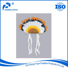 China Made Factory Supply Various Specifiction Reasonable Price Feather Headgear