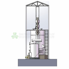 2019 boiler use coal gasifier plant for 100kw generator