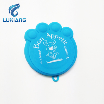 Customized Slik Printing Logo Silicone Can Lid Cover Silicone Can Universal Size Lid Can Lid Cover