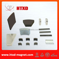 High performance strong segment magnet for electric motor