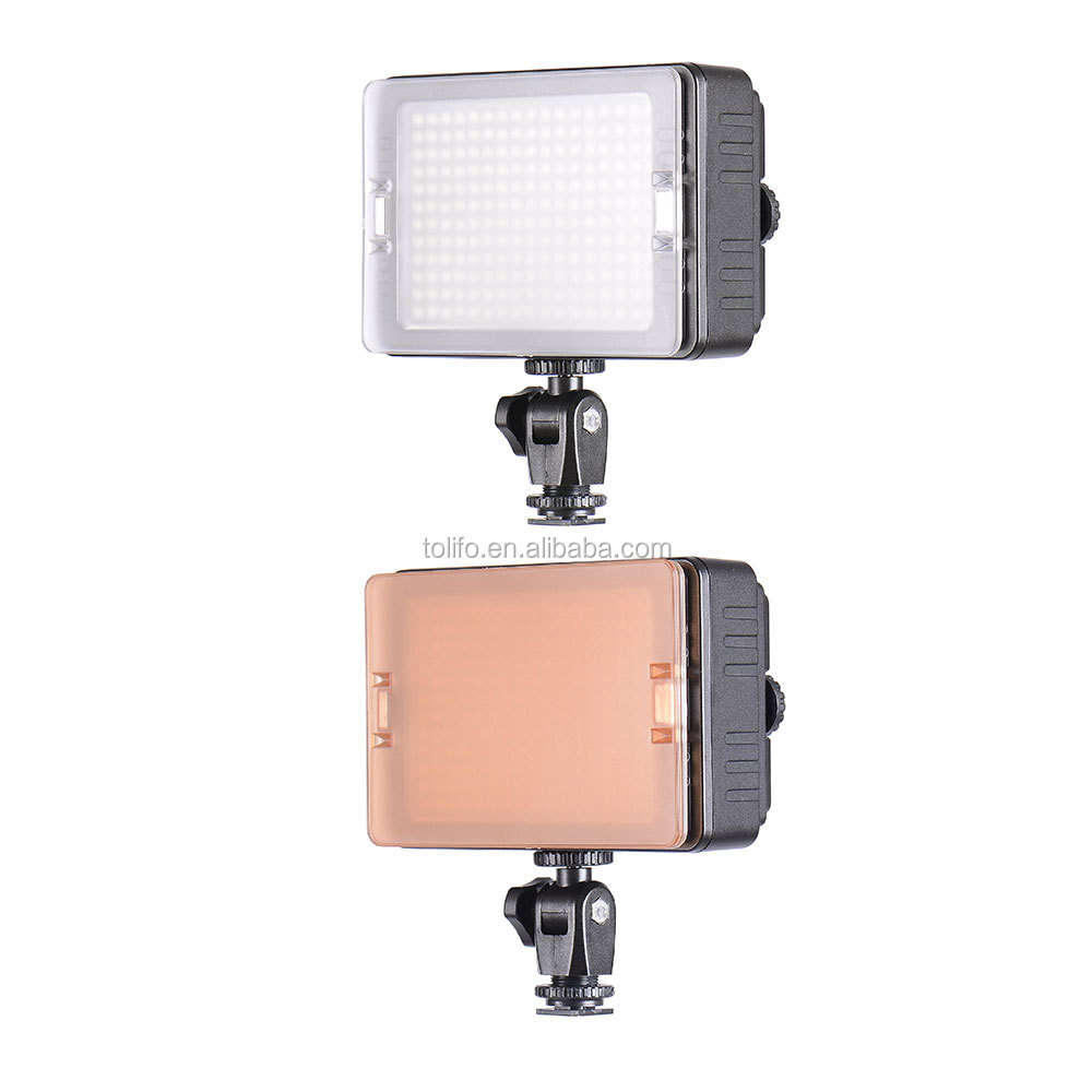 Tolifo 204 LED ultra bright dimmable photographic lighting equipment, photographers equipment for photo studio