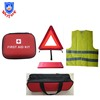 Car emergency safety kit with fire extinguisher
