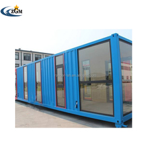 Low cost pre made flat pack container house