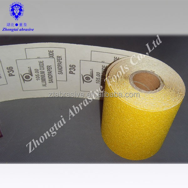 China Factory selling coated emery sand paper emery cloth roll