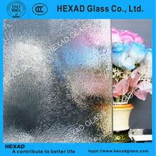 HEXAD Clear Chinchilla Pattern/Figured Glass for Decorative