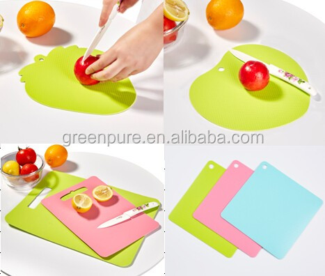Eco-friendly, non-toxic Multifunctional plastic cutting chopping board durable with low price
