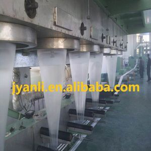 Pet Staple Fiber Production Line Polyester Fiber Making Machinery With Pet Flakes