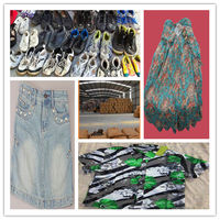 hot sale recycled used jeans for Africa