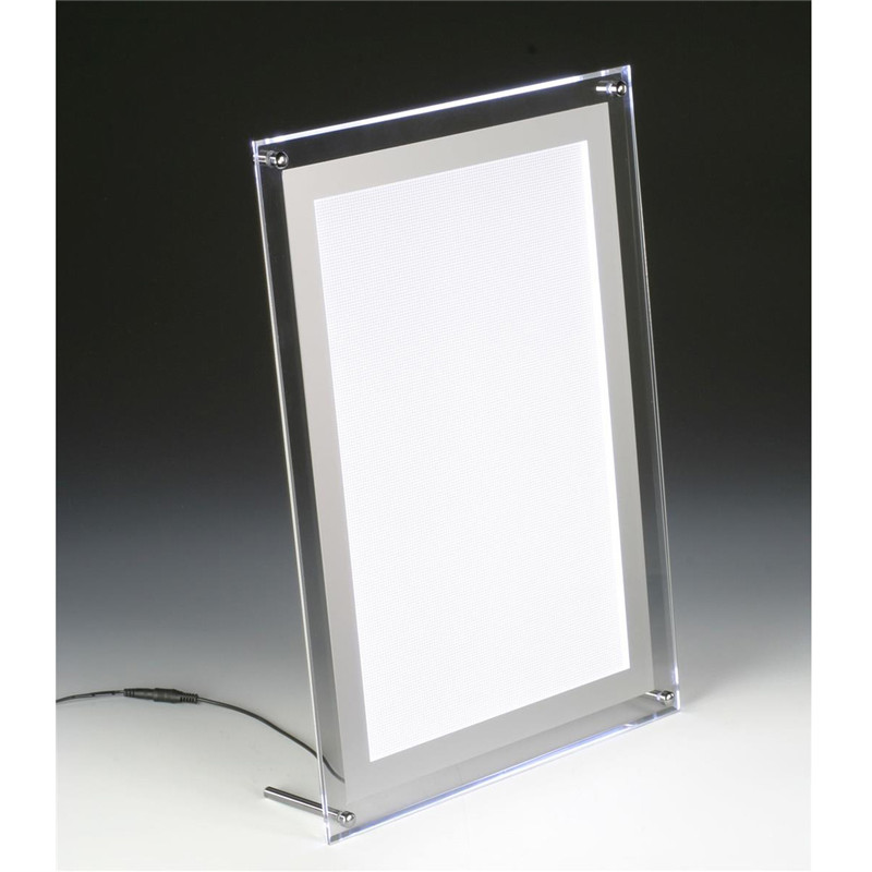 crystal <strong>led</strong> acrylic illuminated menu <strong>boxes</strong>