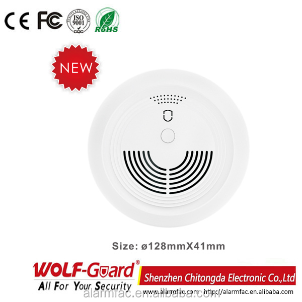 wireless fire alarm GSM smoke detector