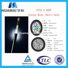 ISO9001 good mechanical performance audio fiber optic cables