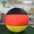 Newly Design Double Layer Promotional Inflatable Germany National Flag Balloon