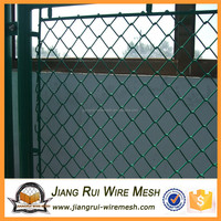 Galvanized chain link fence price/dog proof chain link fence