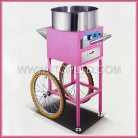 Electric fairy floss sugar cotton candy machine