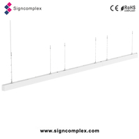 2016 new continuous run modern commercial led pendant lighting