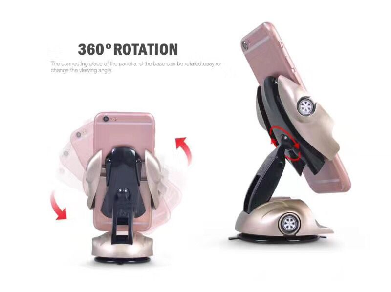 Easy one touch car mount car dashboard sticker phone holder Sports Car Unique Design Mobile Stand Car Phone Holder