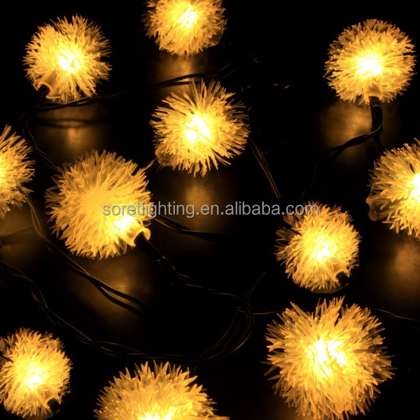 5M 50L,10M 100L copper stranded wire light/pentant string light led/various shape light