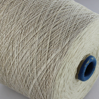Ne 12/1 recycle cotton/polyester knitting thread and yarn double ply knitting yarn for bedsheet