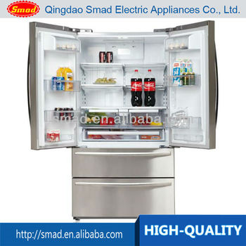 Wholesales Price 542L French Door Refrigerator Large Capacity