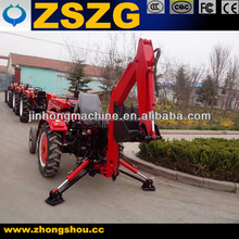 Chinese Best quality tractor with front end loader and backhoe free triangular belt