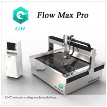 High speed bridge style Flow Max.Pro 4000bar waterjet cutting machine