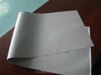 Silicone Rubber Coated Fiberglass Cloth Sheet in grey colour