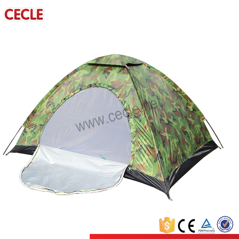 2-3 person waterproof custom print camping tent/beach tent
