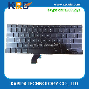 Wholesale Laptop Keyboard for Macbook A1502 US keyboard A1534 A1278 A1286 A1297 A1425
