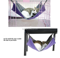 Wholesale Oxford Colorful Cute Soft Pet Cat Hammock Bed