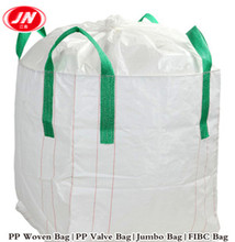 Cheap Wholesales super sack fibc big bag 1 ton jumbo bag for sand, building material, chemical, fertilizer, flour
