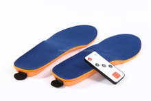 Electric thermal Rechargeable powered Battery Heated Insoles for Shoe