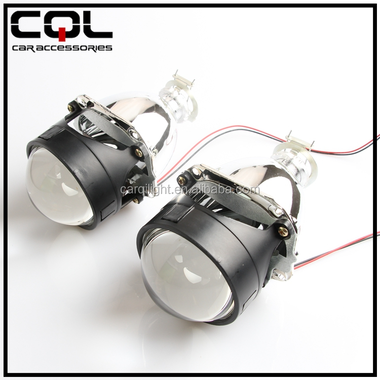 Guangzhou factory wholesale mini bi-xenon motorcycle H1 hid projector headlights
