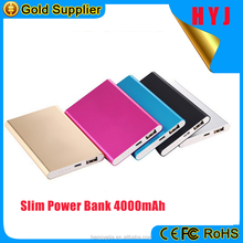 Made in China cheapest aluminum polymer battery kaspersky power bank